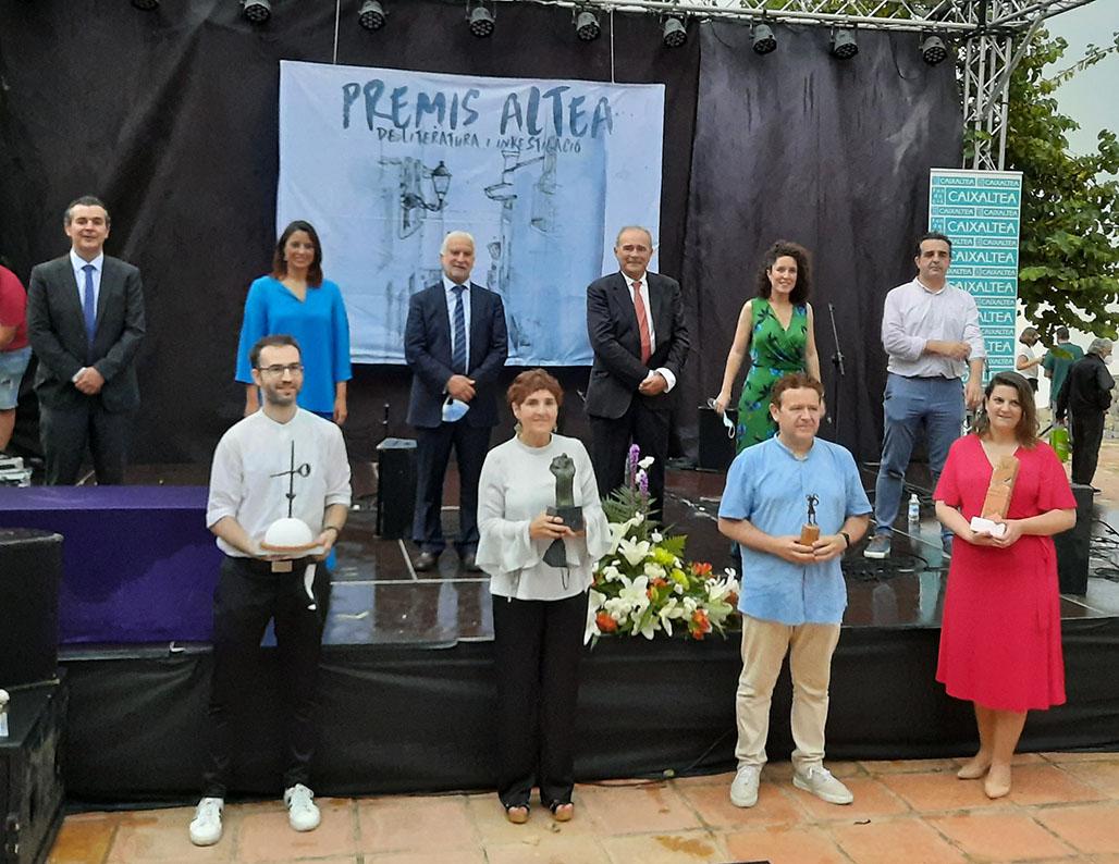 Entregados los galardones de la 5ª edición de Premis Altea