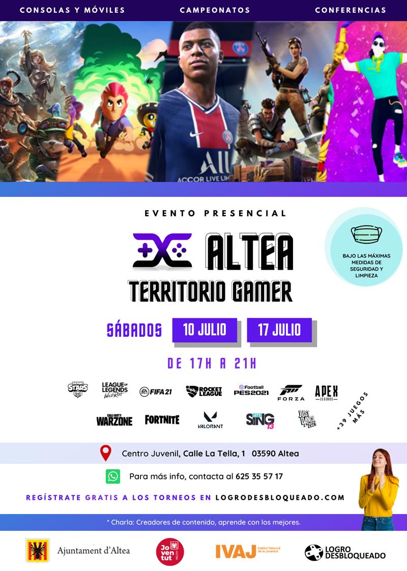 Juventud organiza el I Territorio Gamer