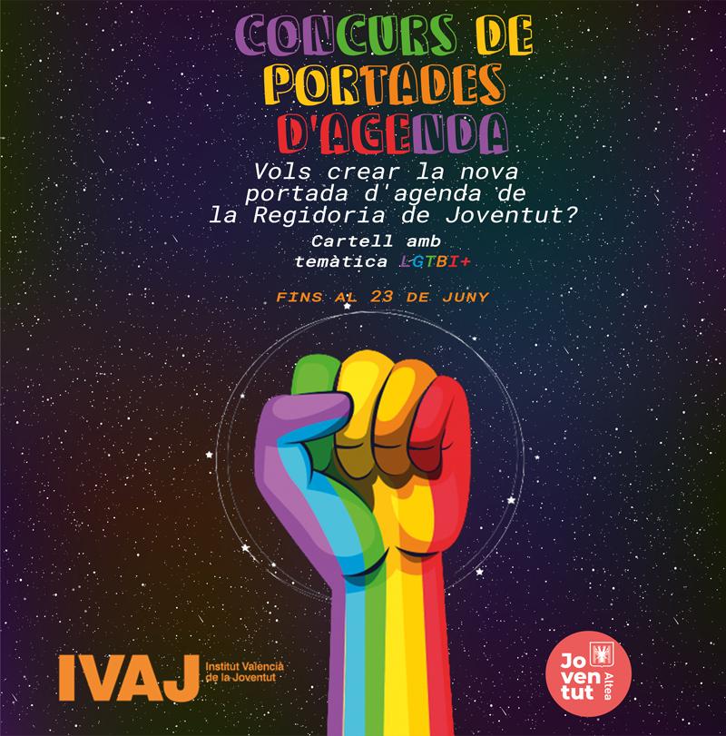 Joventut convoca un concurs de portades amb temàtica LGTBI+