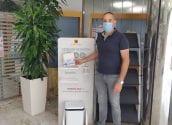 L'Ajuntament rep 20.550 màscares a través d'una subvenció de la Diputació