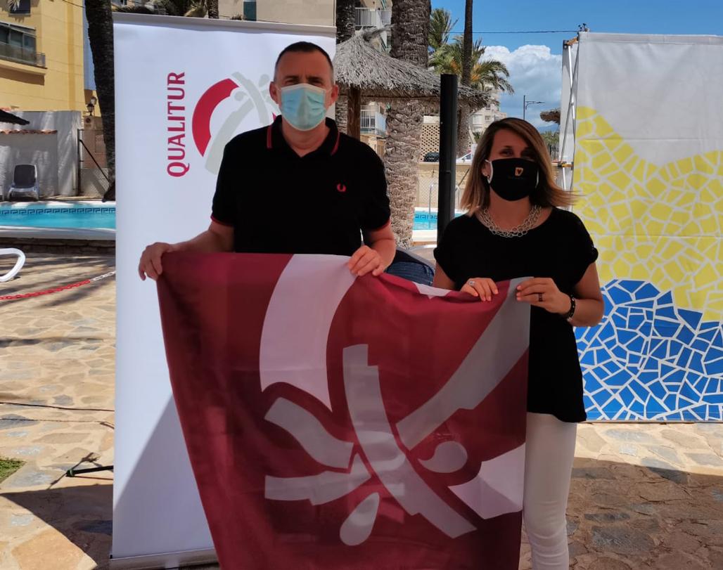 Las playas de Altea obtienen nueve banderas QUALITUR