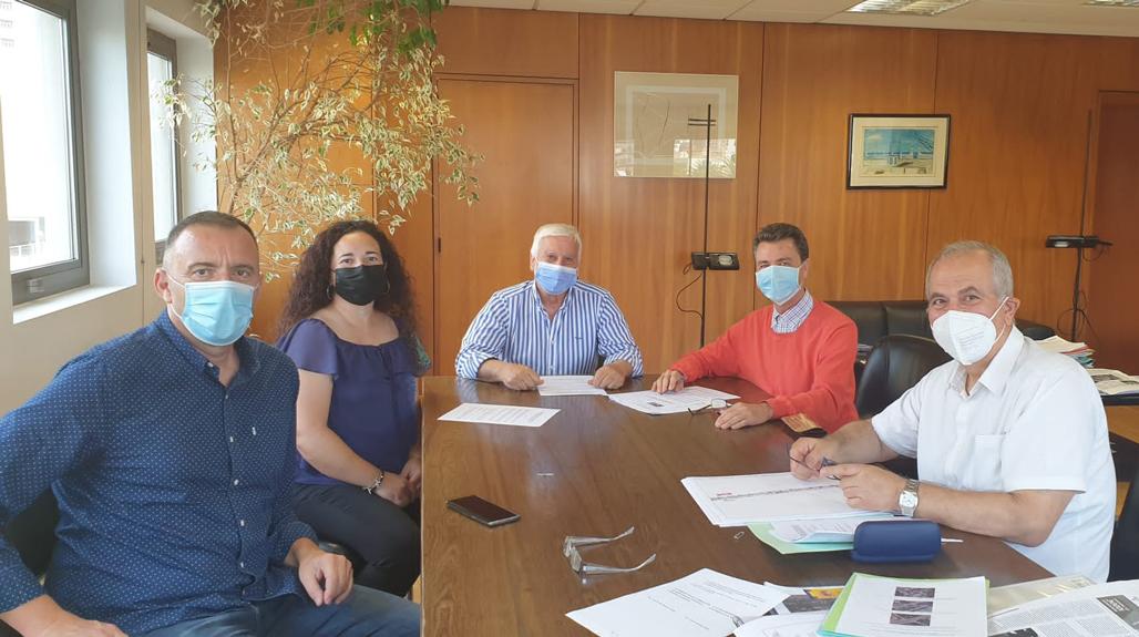 L'Ajuntament d'Altea i el Ministeri de Transport, Mobilitat i Agenda Urbana signen el conveni de la desafecció de la N-332 al seu pas per Altea