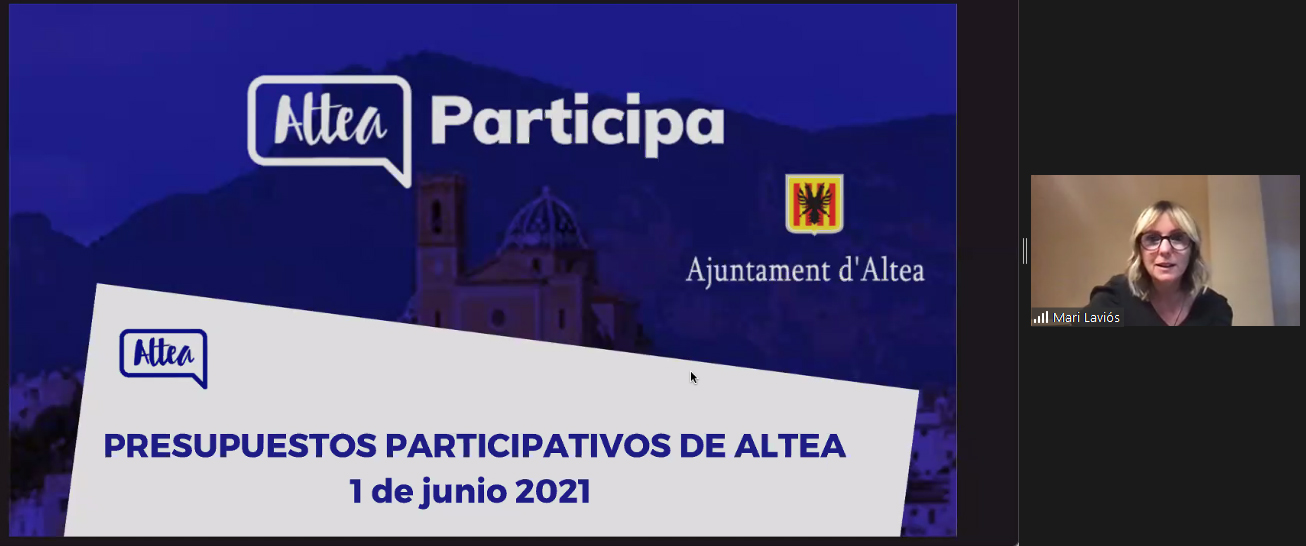 Altea exporta els Pressupostos Participatius a Granada