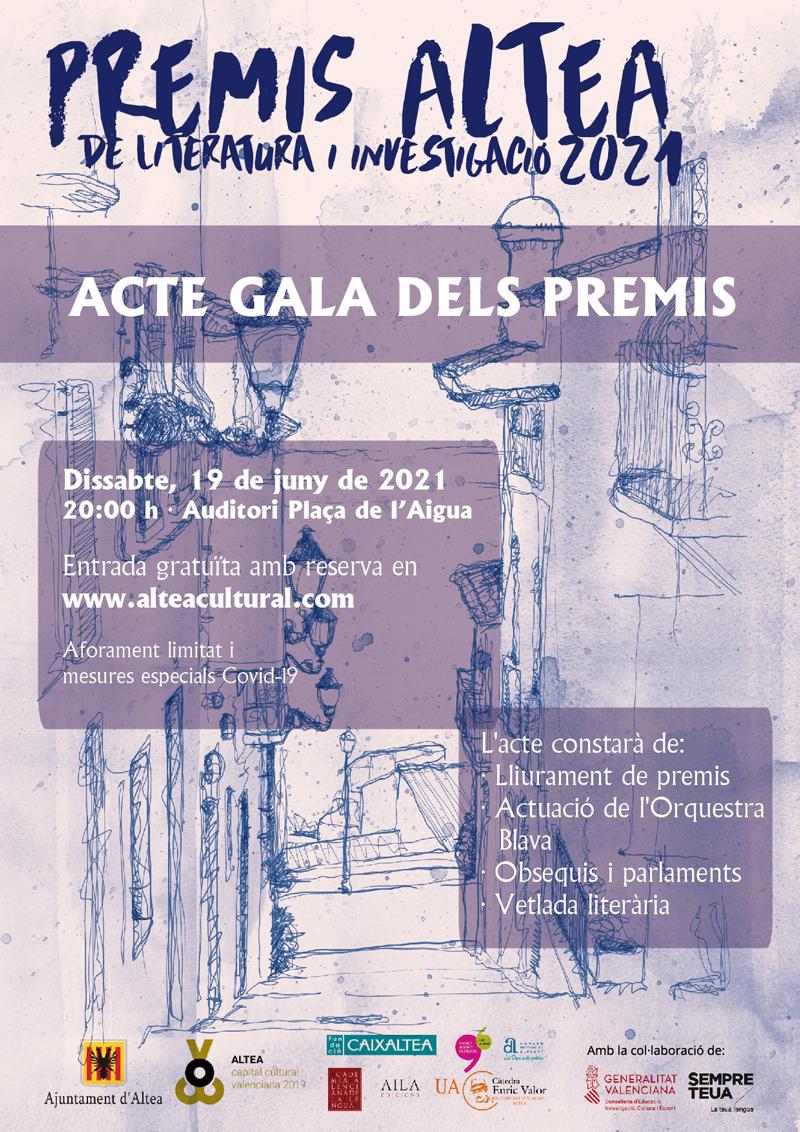 Els Premis Altea ja tenen finalistes en l'edició del centenari de Carmelina Sánchez-Cutillas