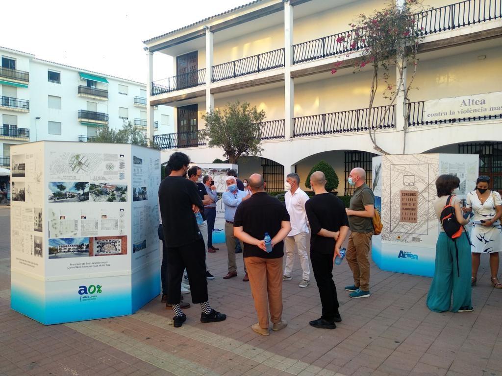 Urbanismo presenta las propuestas del concurso de ideas para la reforma del Ayuntamiento y su entorno