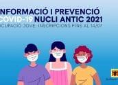 L'Ajuntament llança el Servei d'Informació i Prevenció Covid-19 Nucli Antic i Esdeveniments amb una borsa d'ocupació per a persones joves
