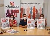 Donanters amb el XX Marató de Donació de Sang Vila d'Altea