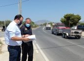 Tràfic valora la situació de la carretera CV-760 a partir d'uns informes de la Policia Local