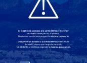 Es reobrin els accessos a la Serra Bèrnia al descendir de nivell Extrem per risc d'incendi. No obstant es continua pregant la màxima precaució.