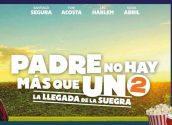 """Segona cita del cinema d'estiu a Altea la Vella. Diumenge 29 d'agost a les 21h, """"Padre no hay más que uno 2. La llegada de la suegra"""" al pàrquing Escoles Velles."""