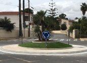 Finalitzada l'execució de la nova rotonda de l'avinguda Juan Alvado