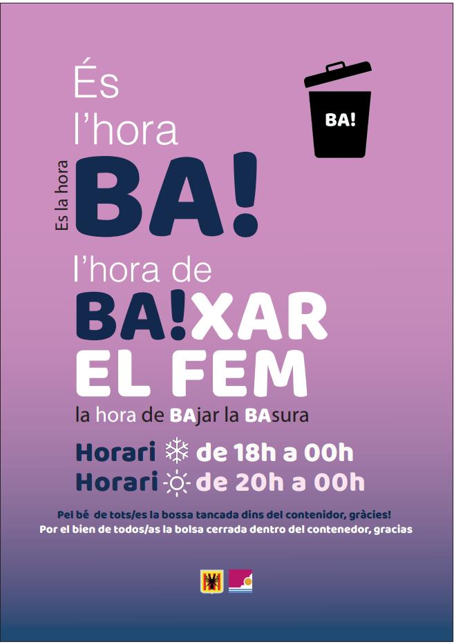 La Pública llança una campanya per al bon ús dels contenidors urbans