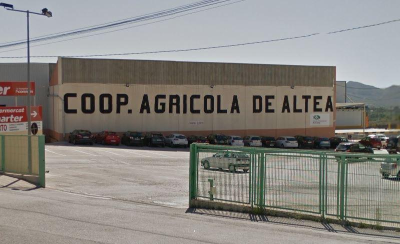 L'Ajuntament es personarà per a adquirir els terrenys de la Cooperativa Agrícola d'Altea