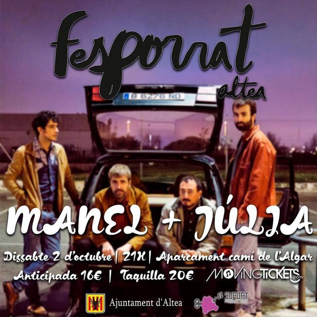 Manel y Júlia ocupan el cartel del Fesporrat 2021