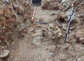 Les obres per a la renovació de la xarxa d'infraestructures hidràuliques d'Altea la Vella han tret a la llum restes arqueològiques de fa vora 2.500 anys
