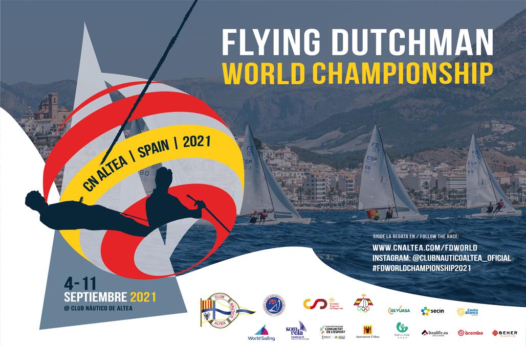 Este fin de semana arranca el Campeonato del mundo de FlyingDutchman en el CN Altea