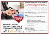 Foment de l'Ocupació i EuroAltea anuncien un nou curs en atenció sociosanitària a persones dependents. Esta formació forma part del conveni signat entre l'Ajuntament d'Altea i la Cambra de Comerç d'Alacant.