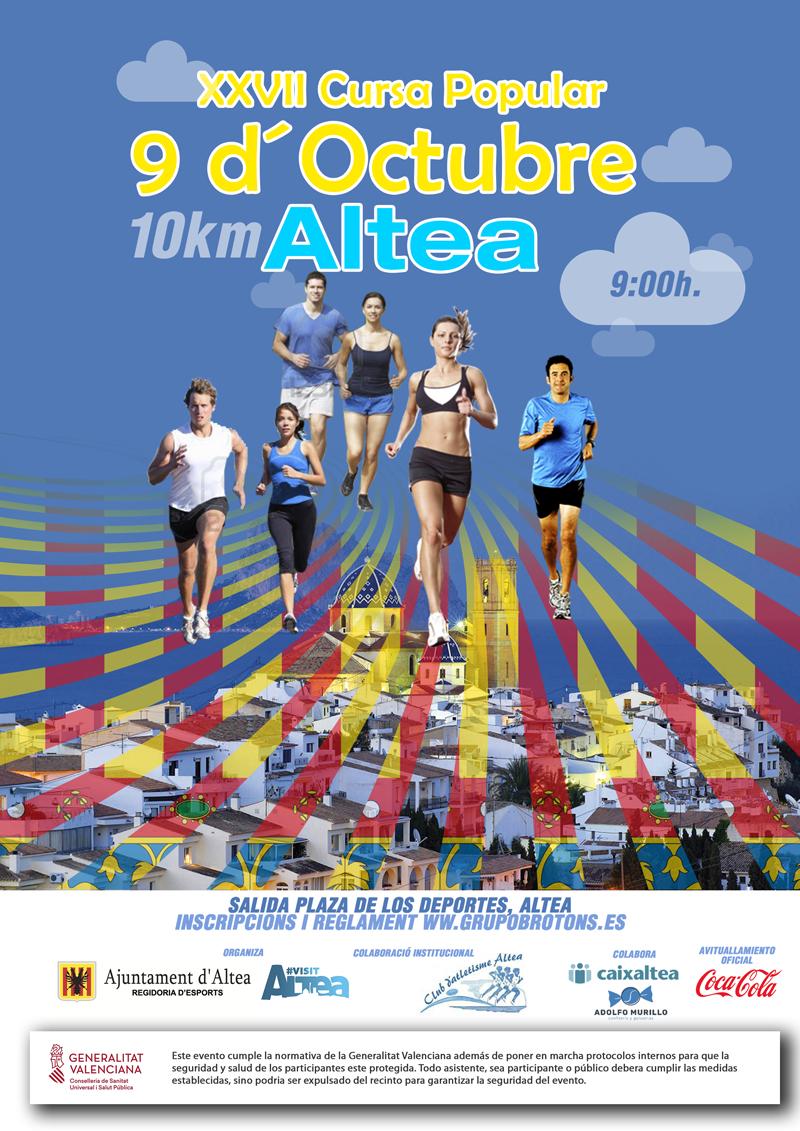 Esports organitza la 27 edició de la Cursa 9 d'Octubre