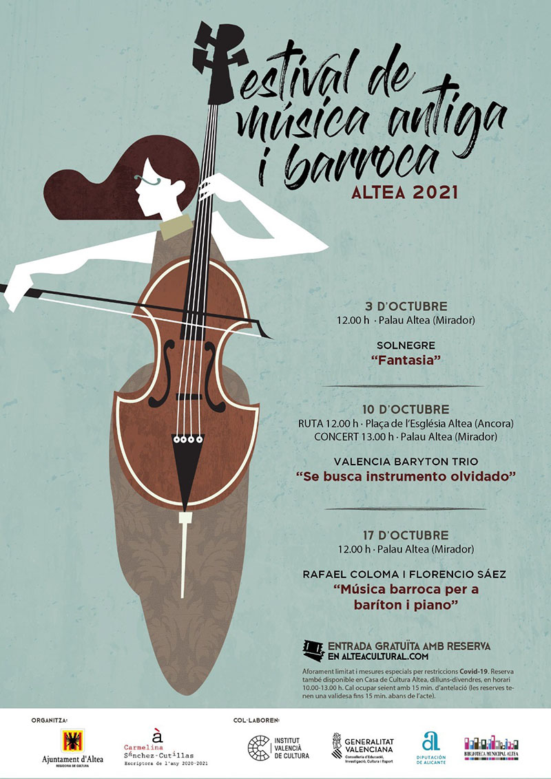 Cultura presenta una nueva edición del Festival de Música Antigua y Barroca