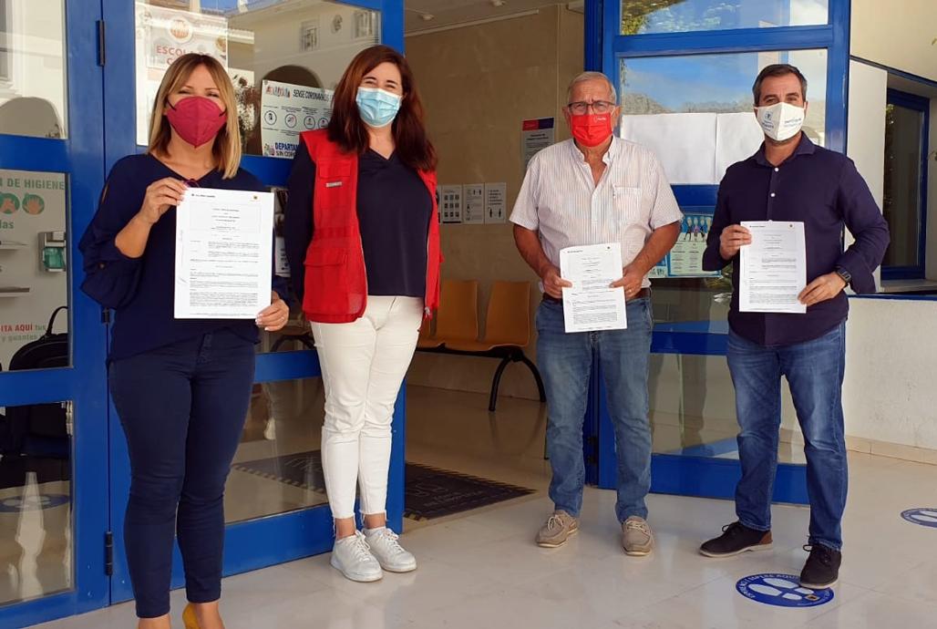 Benestar Social i Creu Roja Altea renoven el conveni de col•laboració