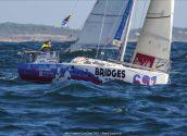 Carlos Olsson, del CN Altea, entre els primers 15 de la flota Mini Transat 2021