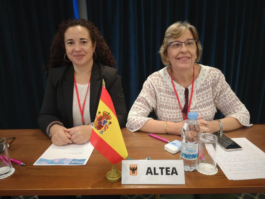 La delegación alteana presenta los resultados del 45 encuentro general del Douzelage