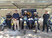 La Policia Local modernitza la seua flota amb motos elèctriques i híbrides