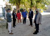 El director general d'infraestructures educatives visita les obres dels col•legis de L'Olla, Les Rotes i Blanquinal