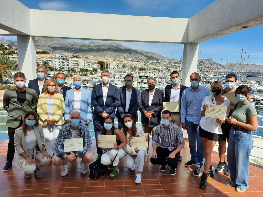 Altea alberga la entrega de premios de la Cátedra de Economía Azul